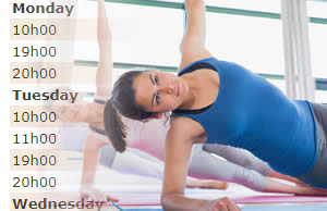 pilates classes timetable