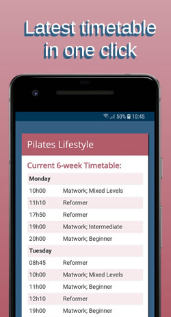 PL phone timetable