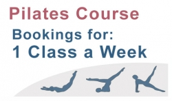 Pilates Course; 1 Class a week