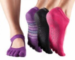 ToeSox : Bella Full Toe Grip Socks