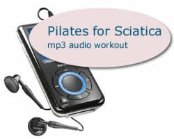 Pilates for Sciatica Audio Exercises